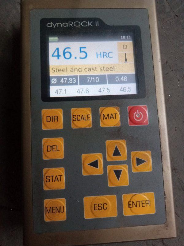 Kết quả đo độ cứng sau nhiệt luyện, khuôn đúc nhôm
